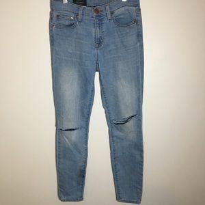J. Crew Toothpick Skinny Mid-Rise Jeans